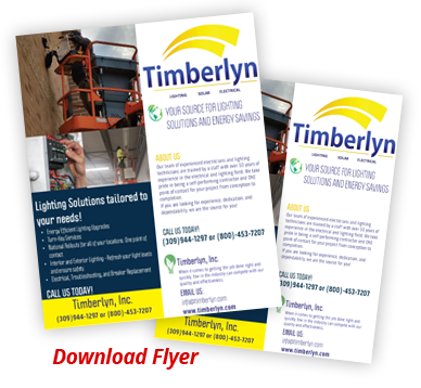 Timberlyn Inc Services Flyer