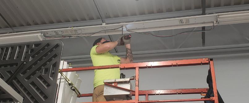 Timberlyn Lighting Installment