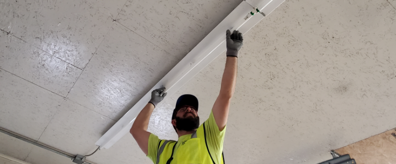 Timberlyn Lighting Install