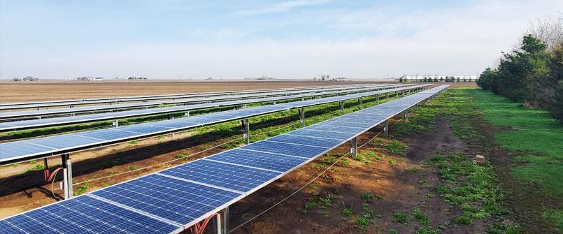 Solar Lighting Energy Saving Agriculture